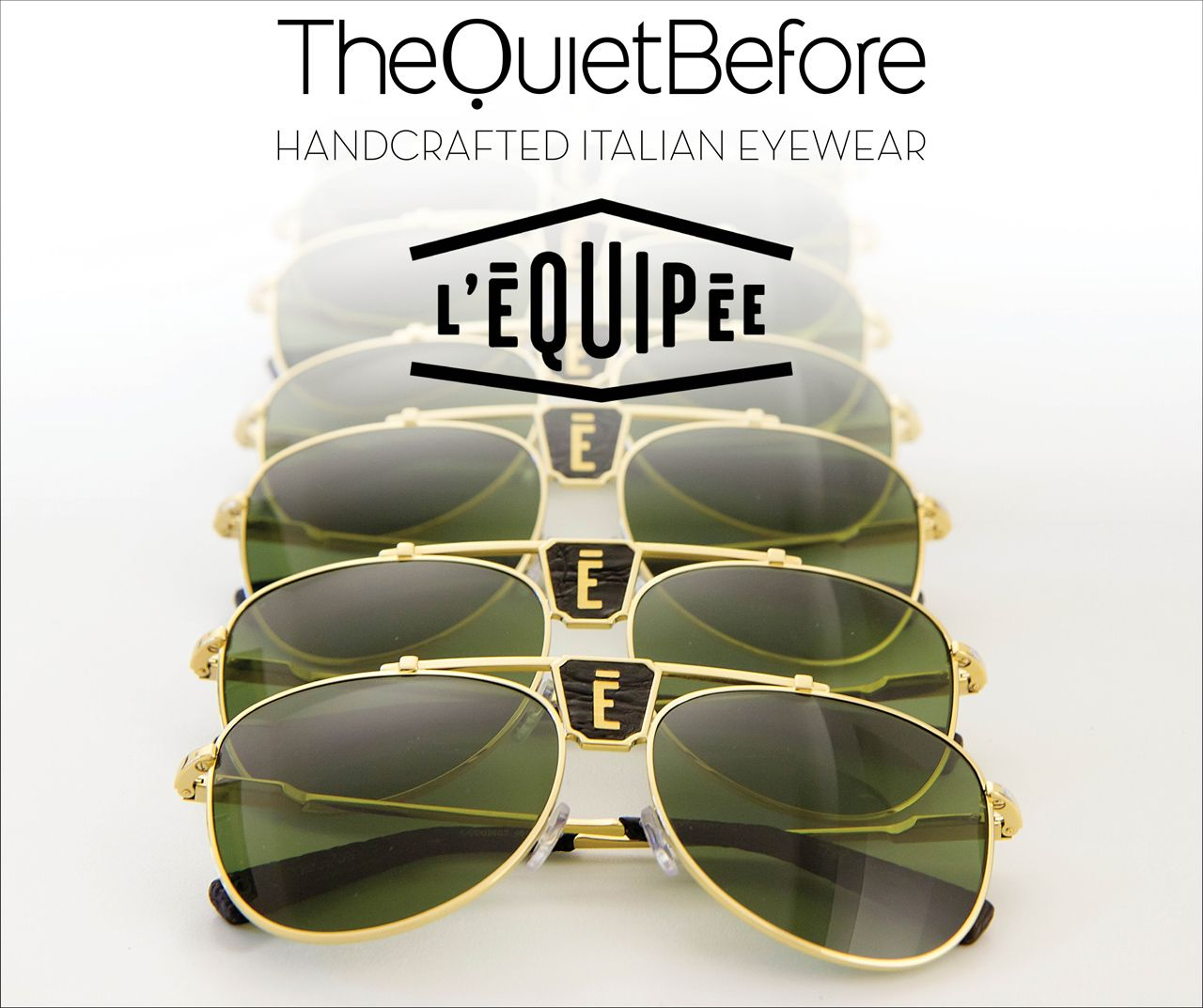The Quiet Before x L'Equipée Paris New post on our blog: http://www.thequietbefore.com/blogs/news/18840183-the-quiet-before-x-lequipee-paris #thequietbefore #eyewear #lequipee