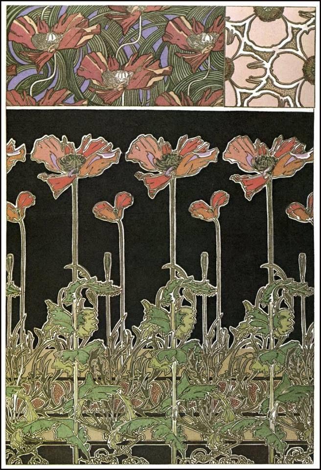 Plate 38 - Documents Décoratifs by Alphonse Mucha 1901