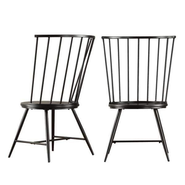 Truman High Back Windsor Clic Dining Chair Set Of 2 Inspire Q Modern