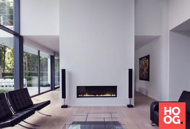 Luxe open haard moderne villa in oud turnhout schellen