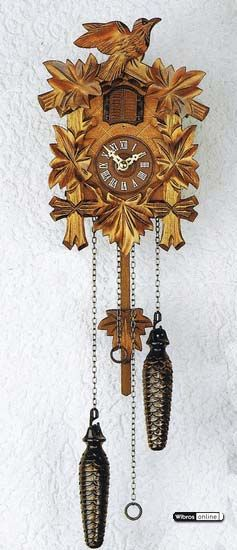 Cuckoo Clock Quartz-movement Carved-Style 22cm by Trenkle Uhren $145.00 including worldwide shipping