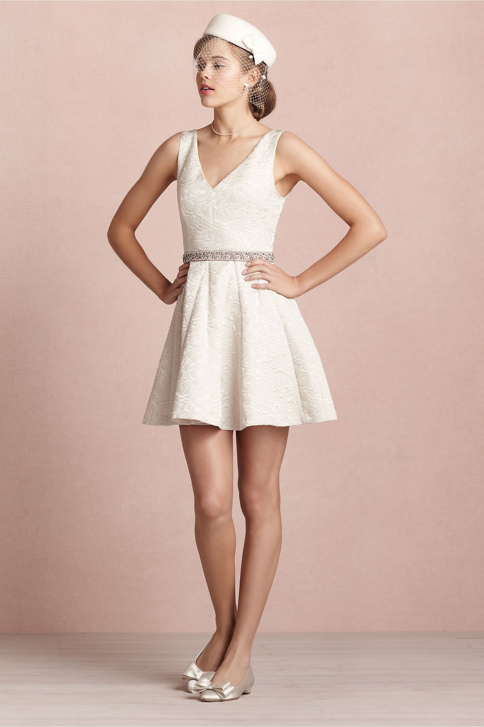 Frost Flower Dress in SHOP Bridesmaids & Partygoers Dresses at BHLDN ...