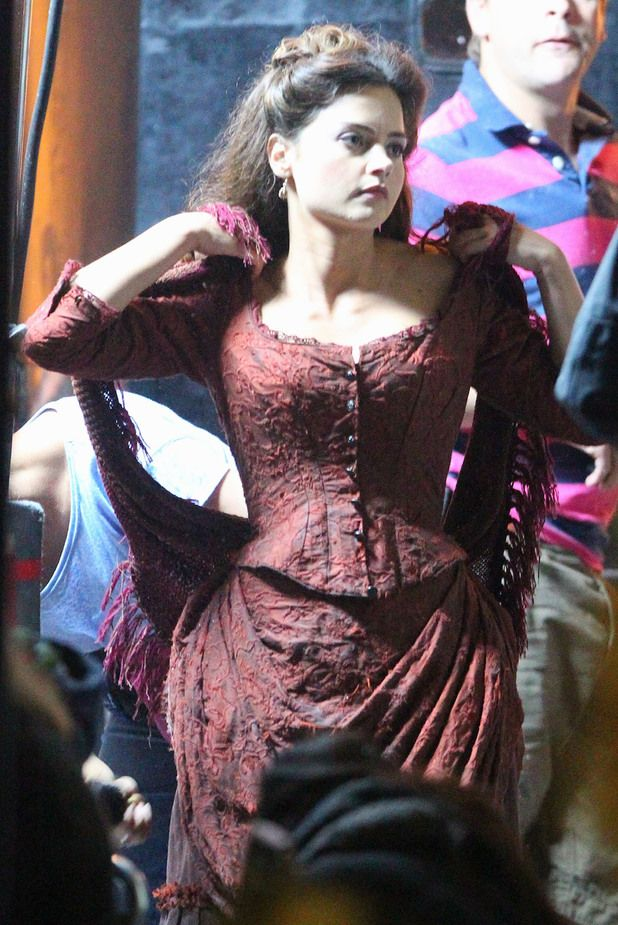 Another glimpse at Jenna-Louise Coleman's new companion.