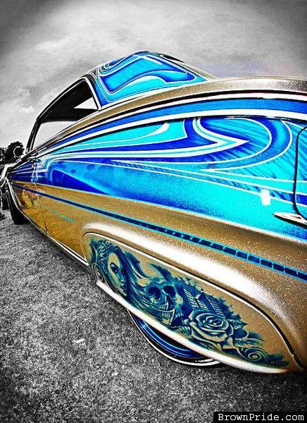 CUSTOM LOWRIDER PAINT - BrownPride.com Photo Gallery (BP)