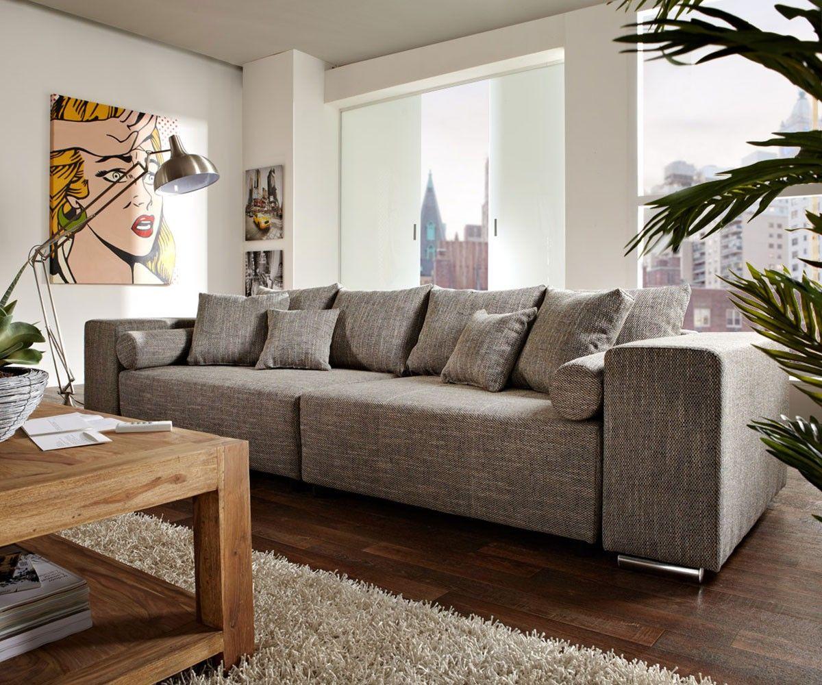 Great DELIFE Big Sofa Marbeya 290x110 Cm Hellgrau Mit Schlaffunktion, Big Sofas  Jetzt Bestellen Unter: Https://moebel.ladendirekt.de/wohnzimmer/sofas/schlafsofas  ...