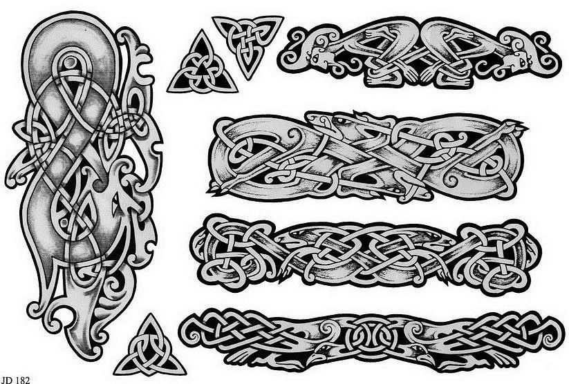 Celtic Tattoo Meaning Symbols Tattoos Viking Art Knot Designs Dragon