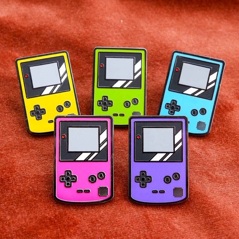 Gameboy Colors Pins made by Siridhata