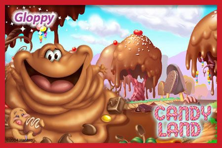 Candyland Characters Gloppy