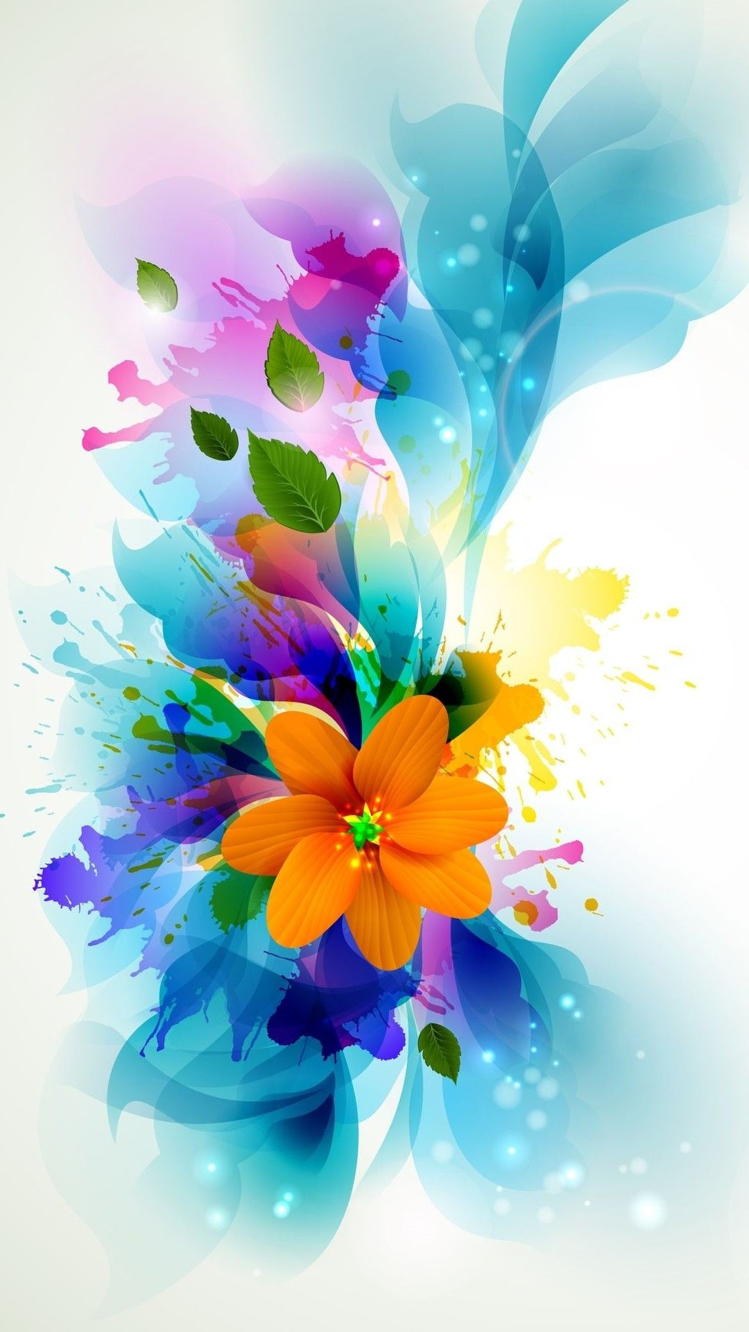 Wallpaper Flower Mobile Wallpaper Nature Flowers Ombre