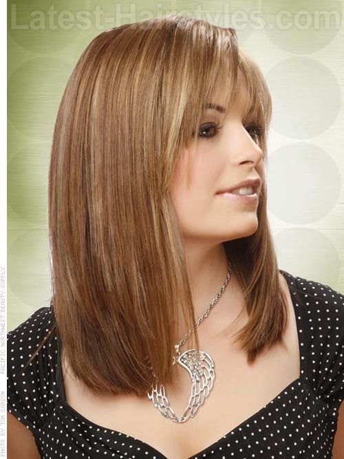 long hair styles with bangs | 10 Bob Hairstyles with Bangs - Head ...