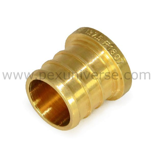 1 2 Pex Plug Pex Crimp Brass Fitting Plugs Fittings Pex Tubing