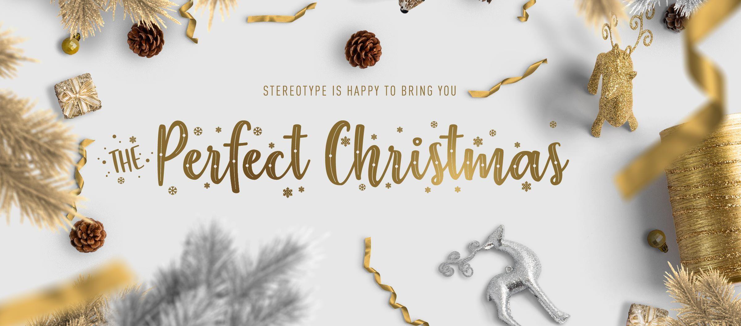 The Perfect Christmas Christmas fonts, Perfect christmas