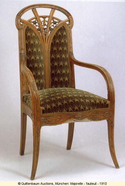Louis majorelle 1859 1926 french furniture maker art - Art nouveau mobili ...