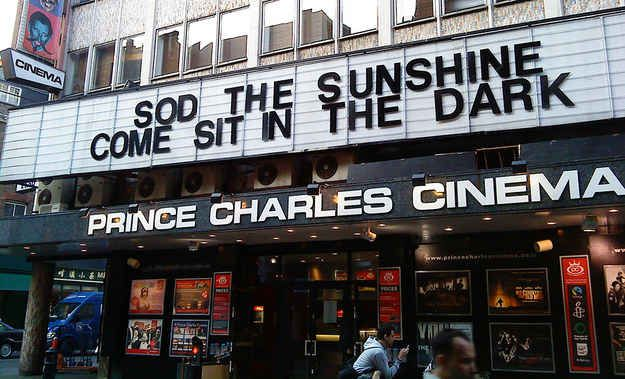 See a sing-along film at the Prince Charles Cinema , Soho.   15 Alternative Things To Do In London