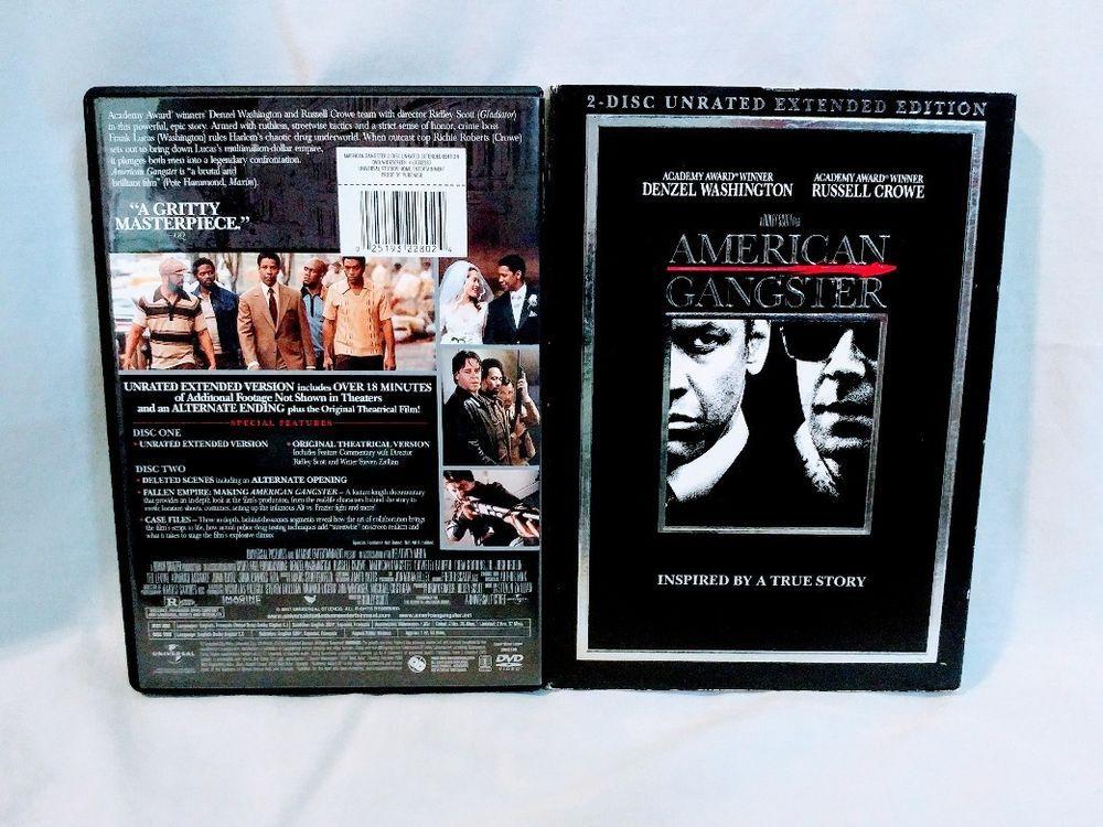 American gangster dvd american gangster denzel washington