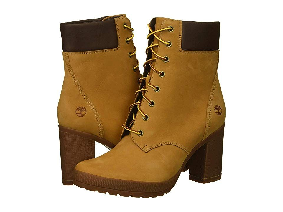 Timberland Camdale 6 Boot (Wheat Nubuck) Women's Lace up