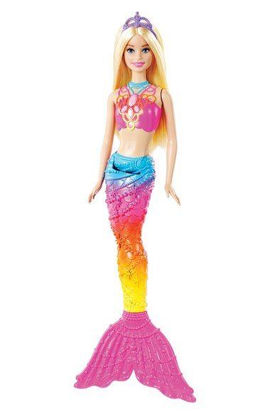 Mattel Barbie Rainbow Mermaid Doll Barbie Mermaid Doll