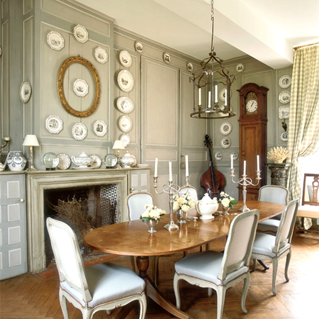 Posh And Elegant Modern Victorian Dining Room Ideas French