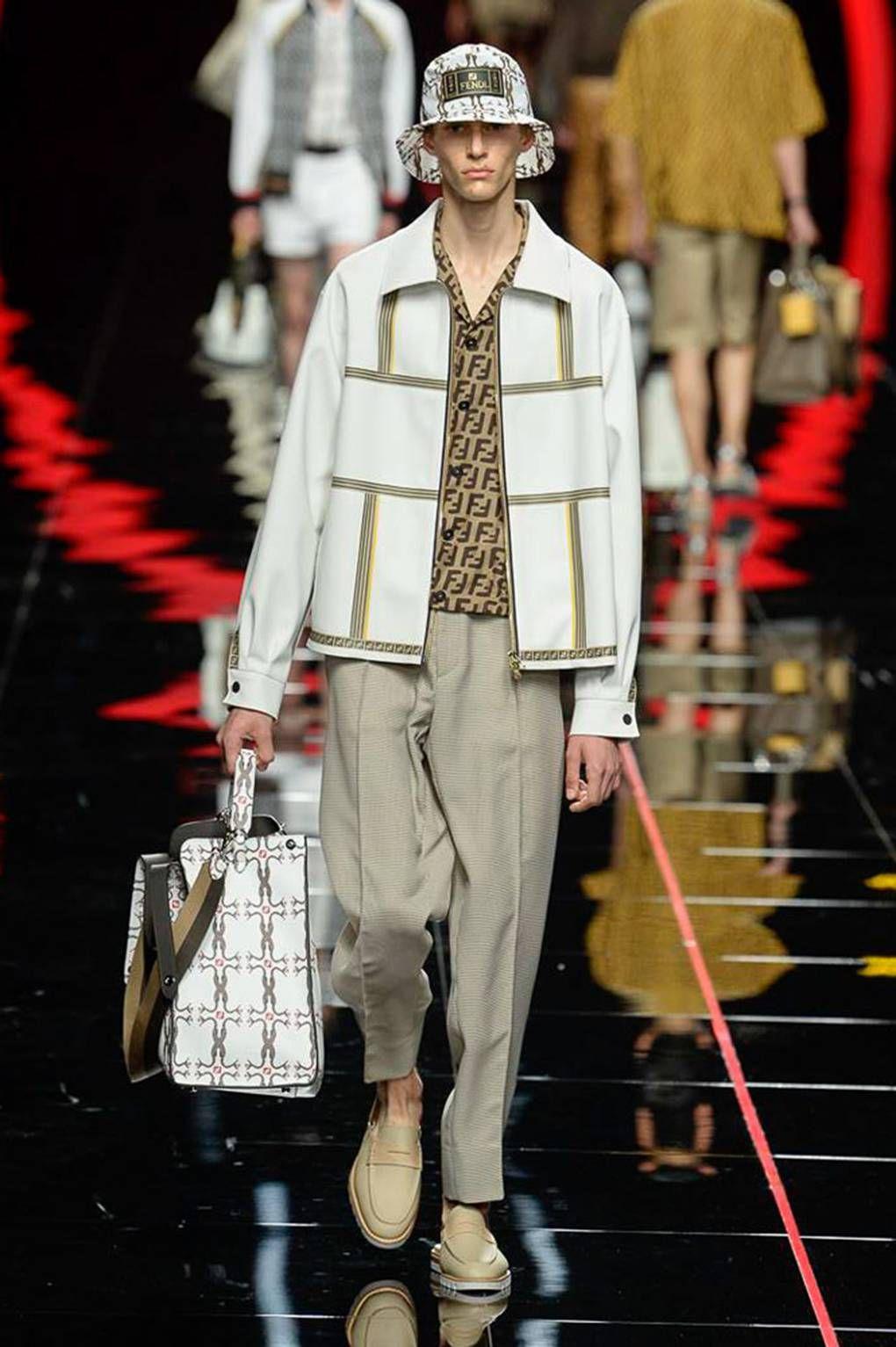 677092d9eada Fendi Spring Summer 2019 Menswear Collection