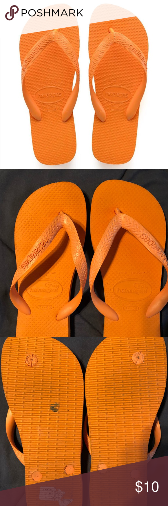 cb1b4348ac98 Women s Havaiana s Flipflops Women s Havaianas size 37-38 (7). Great  condition Havaianas Shoes