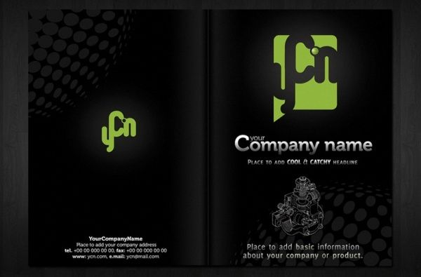 Brosur Flyer Template Gratis Download Brochure Template