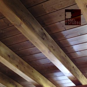 Ofertas de paneles de madera para tejados y cubiertas en for Tejados de madera bizkaia