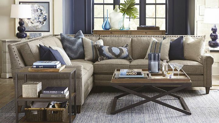 22 Real Living Room Ideas Decoholic Sectional Sofas Living Room Bassett Furniture Living Room Cozy Living Rooms