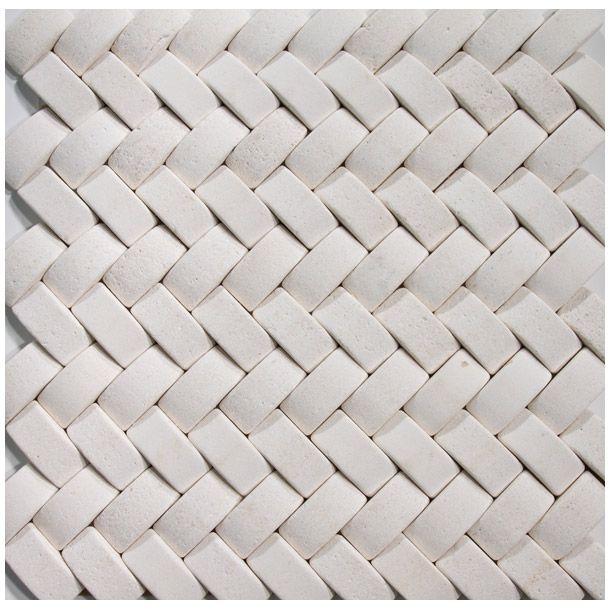 Herringbone Brick Pattern in Fireplace | image is a representation ...