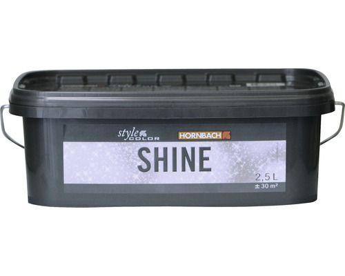 Glitzer Lasur Stylecolor Shine Silberglimmer 2 5 L Bei Hornbach Kaufen