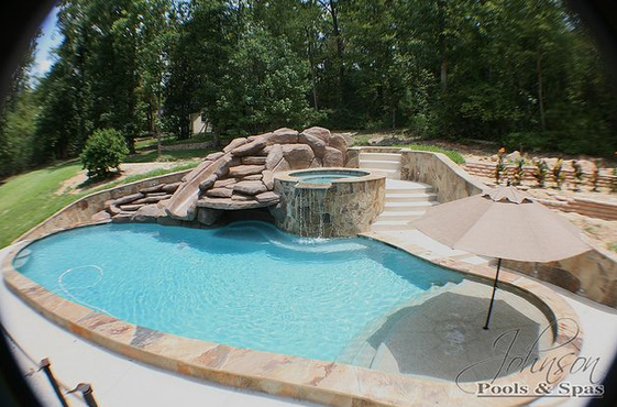 Picture Backyard Pool Small Backyard Pools Pool Houses
