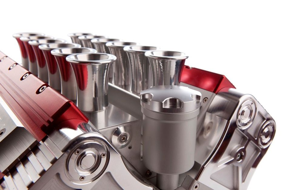 V12 Espresso Machine Pulls Design Concept From Formula One Engines #productenengadgets