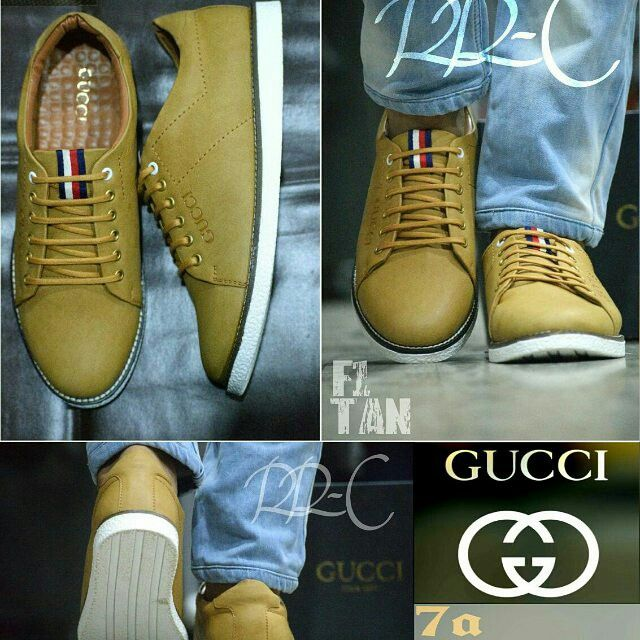 eef4588ab4804 GUCCI ITALY 7A QUALITY RESTOCKED LOW-TOP SNEAKERS LOVERzz DESCRIPTION Make  a statement on casual days with these Stylish Gucci s low-top sneaker  Perfect for ...