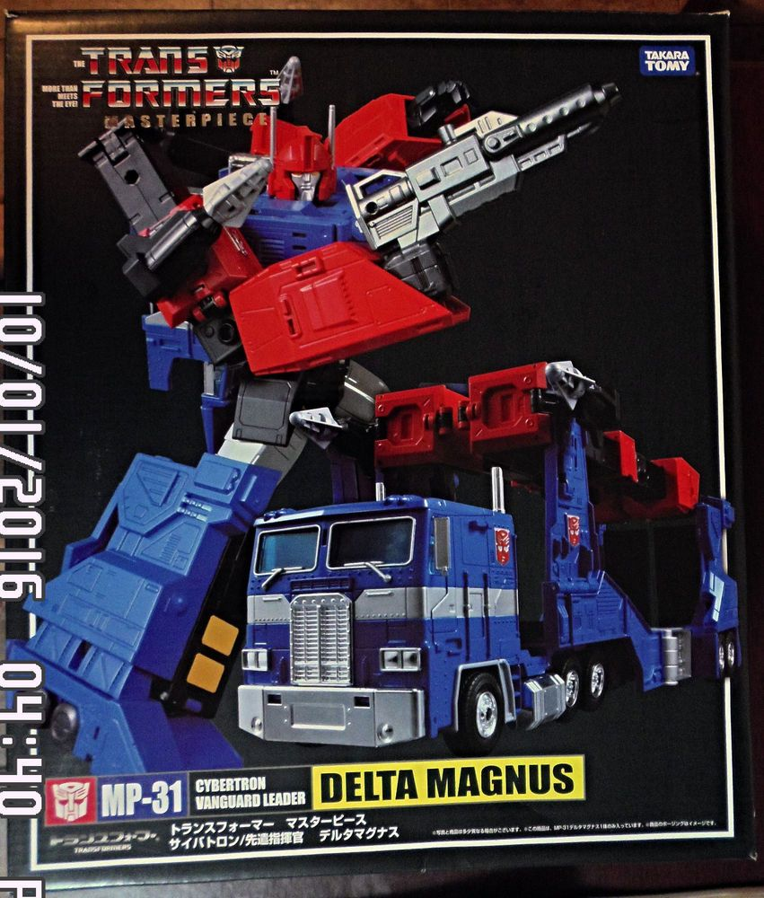 NEW Transformers Masterpiece MP-31 DELTA MAGNUS DIACLONE Action Figure MISB