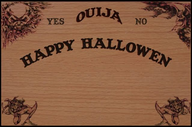 Most Of You Im Sure Have Seen The Other Thread Where I Taken An Image Ouija Board And Striped Letters Off Made Custom Invites With