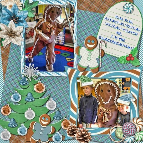 Warm Gingerbread Ct Pages by Lavender Passion