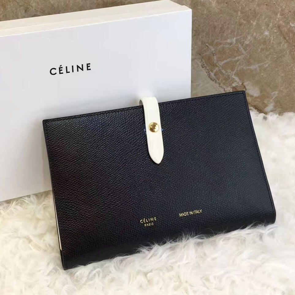 24dd1ba75b Celine Large Multifunction Wallet 100% Authentic 80% Off