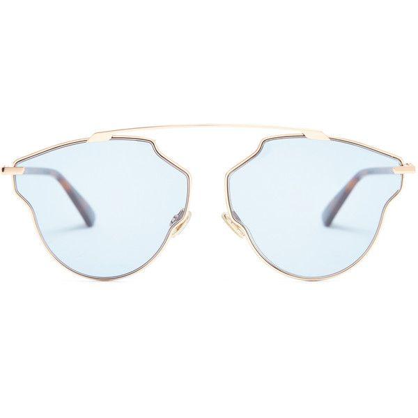 DiorSoReal tortoiseshell aviator-frame sunglasses Dior IEeaeM