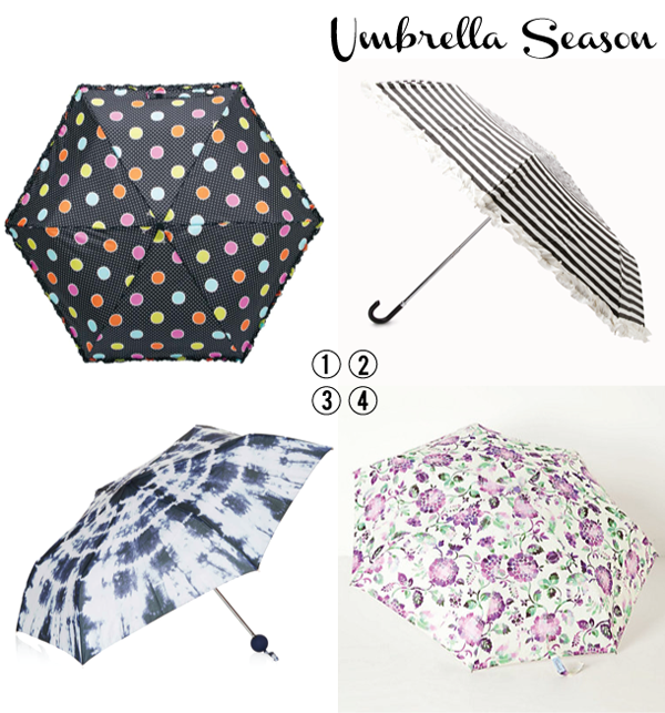 Cute Umbrellas for Rain or Shine