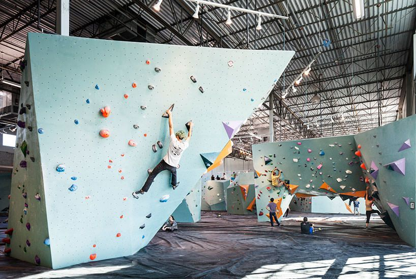 The World S Largest Bouldering Gym Is Indoor Climbing Heaven Bouldering Gym Rock Climbing Gym Indoor Climbing