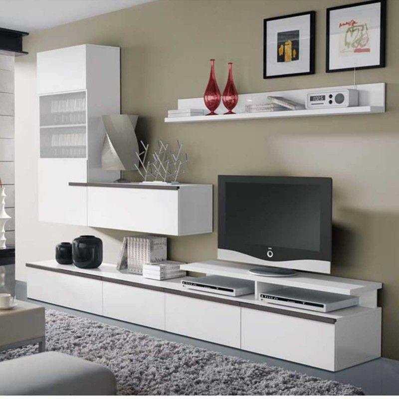 meuble tv laqué design socotra atylia | déco | pinterest | socotra ... - Composition Meuble Tv Design