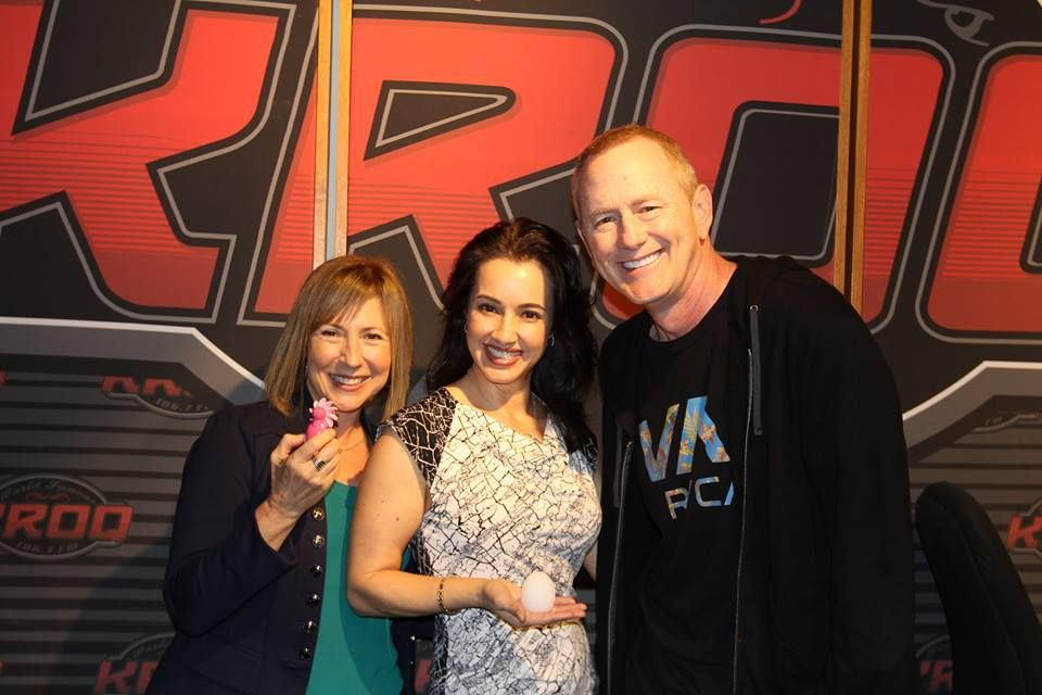 Loved every titillating, brow-lifting, laugh-out-loud moment with The Kevin & Bean Show at The World Famous KROQ Los Angeles.They're true radio pro's and are always so sweet to me. It's been 14 years now that I've been welcomed on their show. Thank you!! #blessed #honored #grateful  If you were wondering... that's the Tenga Wavy Egg (men's self-pleasurizer streeetchy toy in my hand) & Lisa's got the Sqweel (tongue oral sex stimulator for ladies) Click here! #golove #ticklekitty #drsadie…