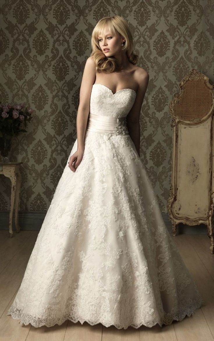 Wedding Dresses for Hourglass Figure - Dress for Country Wedding ...