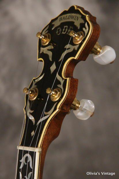 Baldwin ODE model 6500 DSR 5-String Banjo 1970s | Reverb