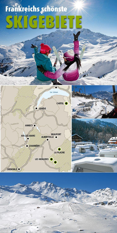 Wohnmobil-Tour in die französischen Alpen: Wintersport-Rendez-vous