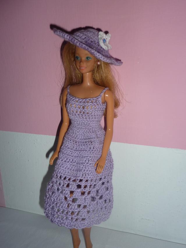 Vestidos para muñecas en crochet - Imagui | Crochet para barbi ...