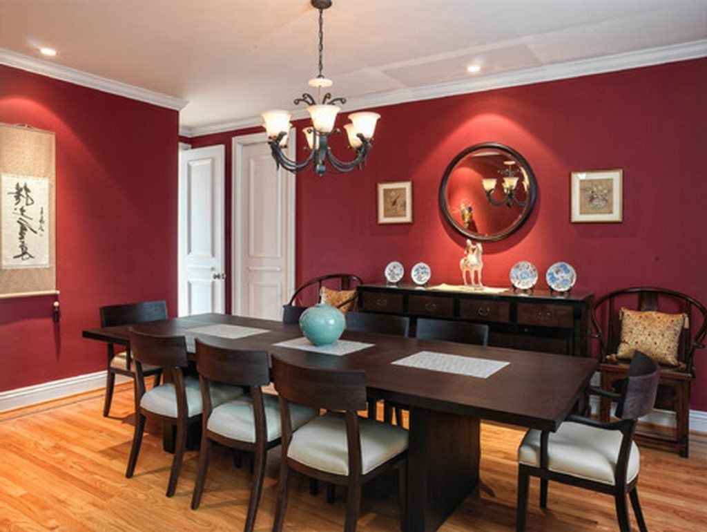 Fruits Sculpture Red Dining Room Sets Romantic White Candles Black Cool Red Dining Rooms Decorating Inspiration