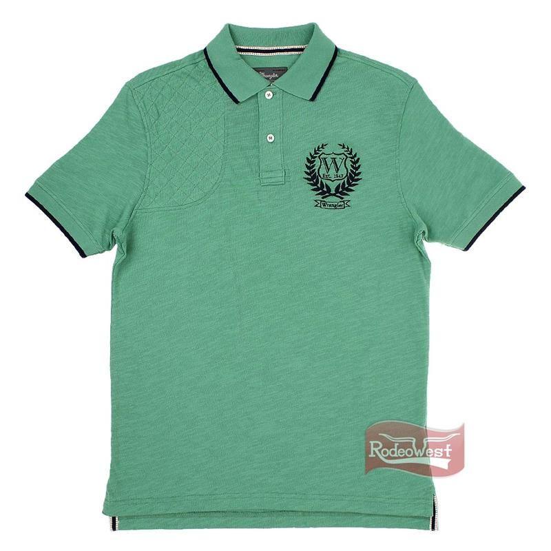 Polo Masculina Verde 100% Algodão - Wrangler  Homens  4c6acfb32b7b9