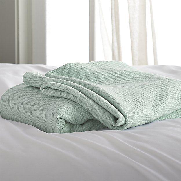 Siesta Seafoam Full Queen Blanket Queen Blanket Blanket Twin Blanket