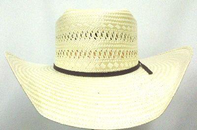 Resistol Odessa Natural Poly Rope 4.25 Brim Brick Crown Straw Cowboy ... b2aef02db0f