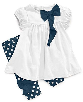 First Impressions Baby Clothes Delectable First Impressions Baby Set Baby Girls Cascading Bow Top And Design Decoration